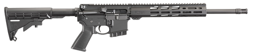 """Ruger AR556 5.56mm, 16.1"""" Barrel, Free-float TB Collapsible, 10rd"""