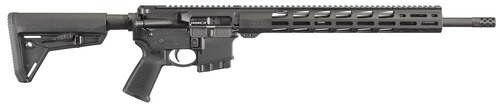 "Ruger AR556 5.56mm, 18"" Barrel, Free-float MP MOE Grip, 10rd"