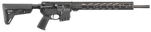 "Ruger AR556 5.56mm, 18"" Barrel, Free-float MP MOE Grip, 10rd"