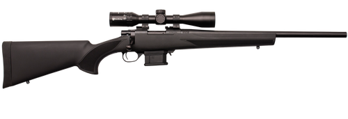 """Howa Mini Action Rifle Package 6.5 Grendel, 22"""" Barrel, Blued, Green Stock, 10rd"""
