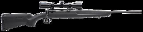 "Savage Axis II Compact, 350 Legend, 18"" Barrel, Black Color, Black Polymer Stock, 4Rd, Detachable Box Magazine"