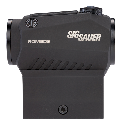 Sig ROMEO5, Red Dot, 1X20MM, Black, 2 MOA Dot, High Mount Only, Fits M1913 Rail