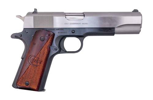 "Colt 1911 Government .38 Super Two-Tone, 5"" Barrel, Series 70, 1 of 250, 9rd"