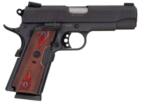 "Taurus 1911 Commander 45 ACP, 4.25"" Barrel, Laser, Black, 8rd"