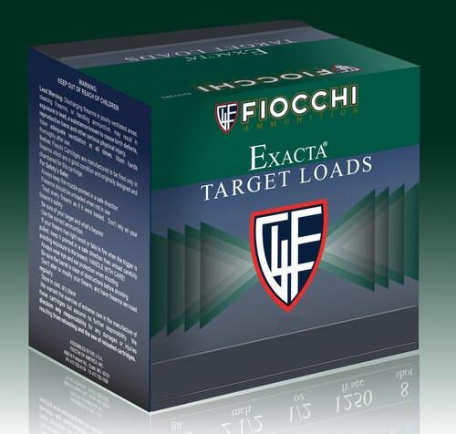 "Fiocchi Target 12 Ga, 2.75"", 7.5oz, Target, 25rd/Box"