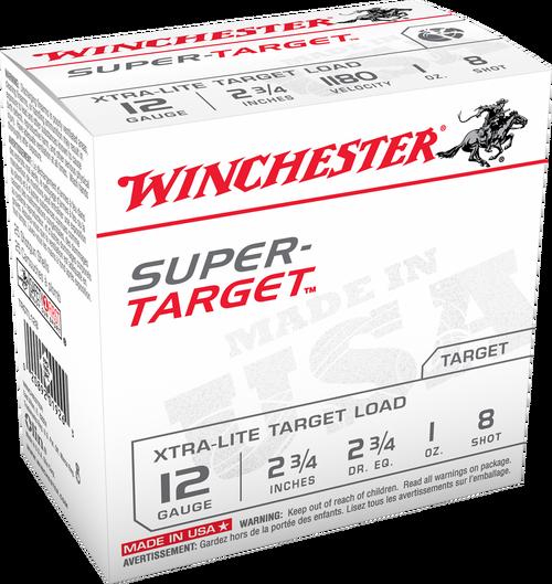 Winchester Super-Target 6.5 Creedmoor 125gr, Open Tip, VP, 60rd/Box