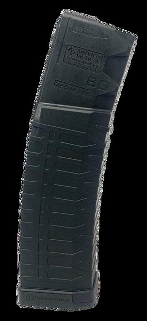ATI AR-15 S60 Schmeisser Magazine 223/5.56mm, Black Polymer, 60rd