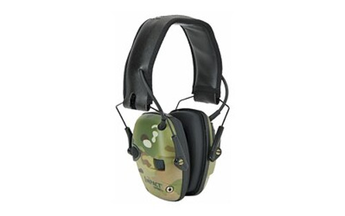 Howard Leight Impact Sport Multicam Electronic Earmuff, Camo