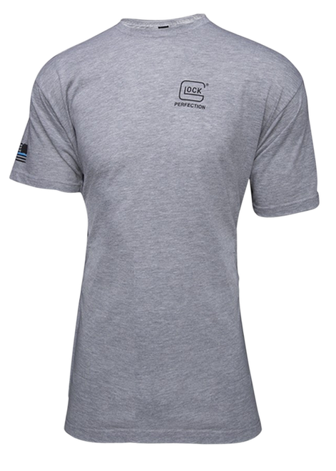 Glock We Got Your Six Grey T-Shirt 3XL