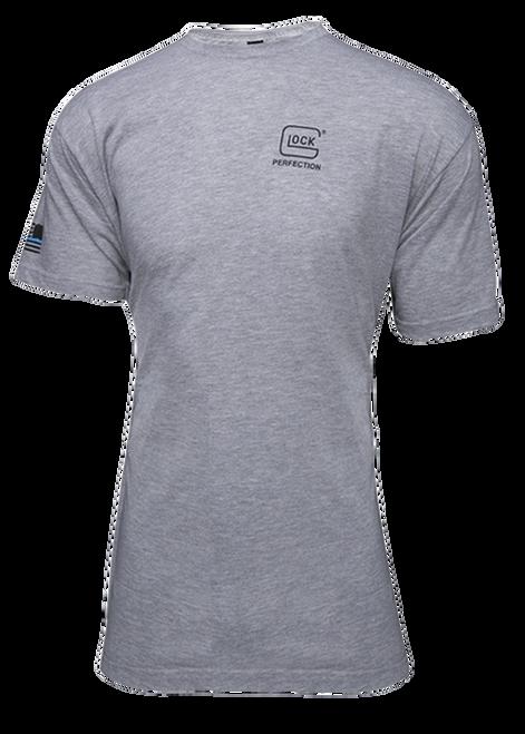 Glock We Got Your Six Grey T-Shirt Lrg