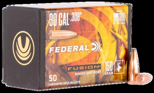 Federal Bullets .308 150gr, FUS, 50rd/Box