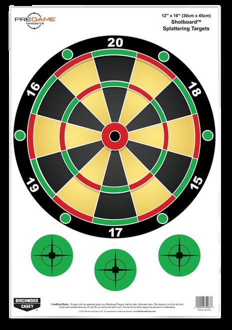 Birchwood Pregame Shotboard Target 100