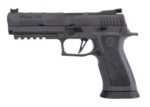 """Sig P320 XFIVE Legion 9mm, 5"""" Bull Barrel, Dawson Precision Sights, Gray, 10rd Mag"""