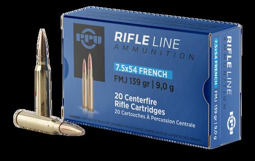 TR&Z 7.5x54mm French 139gr, FMJ, 20rd Box