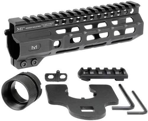 """Midwest Combat Rail M-Lok, Handguard, Fits AR Rifles, 7"""""""