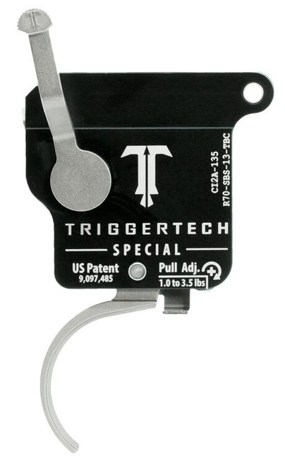 TriggerTech Special with Bolt Release Remington 700 Single-Stage Traditional Curved 1.00-3.50 lbs