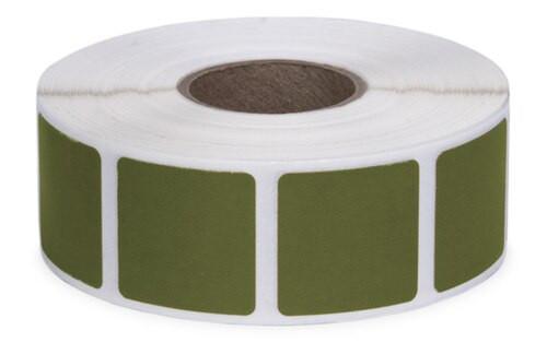 Action Pasters Bullit Repair Sticker Military Green 1000, 7/8 Sq
