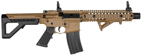 Crosman DPMS SBR Full Auto Air Rifle Semi/Full Auto, Flat Dark Earth
