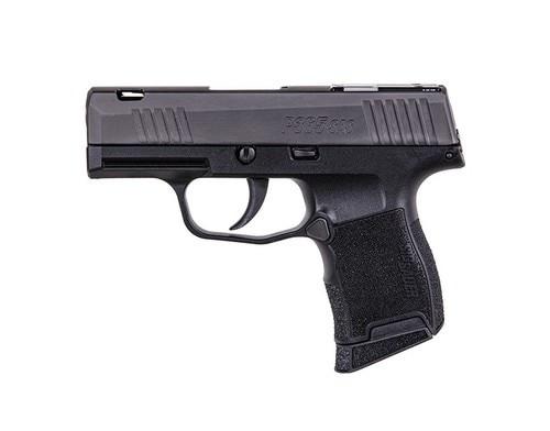 "*D*Sig P365 SAS 9mm, 3.1"" Barrel, FT Bullseye Sights, Black, 10rd"