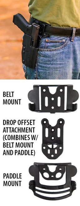 Comptac Outside Waistband Walther PPQ Subcompact
