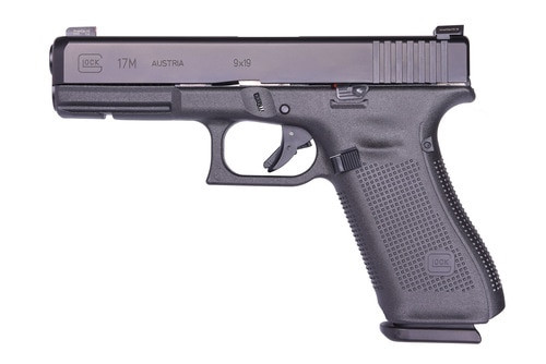 Glock 17M FBI Contract Pistol 9mm, Ameriglo Agent Sights, Limited Availability, 17rd Mag