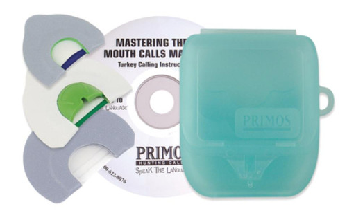 Primos Hunting Calls Mastering The Art Mouth Calls Made Easy Instructional CD With Three Turkey Calls
