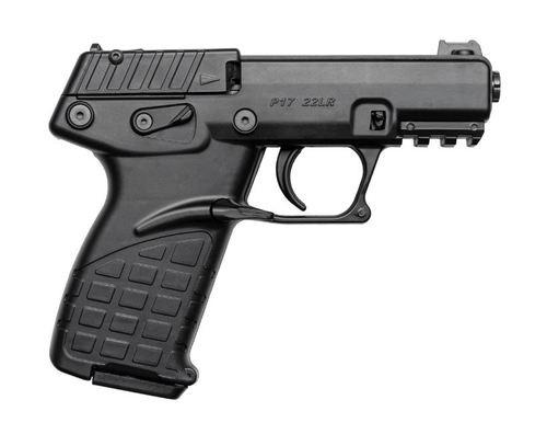 """Kel-Tec P17 .22 LR, 3.93"""" Barrel, Fiber Optic Front Sight, Black, 16rd"""