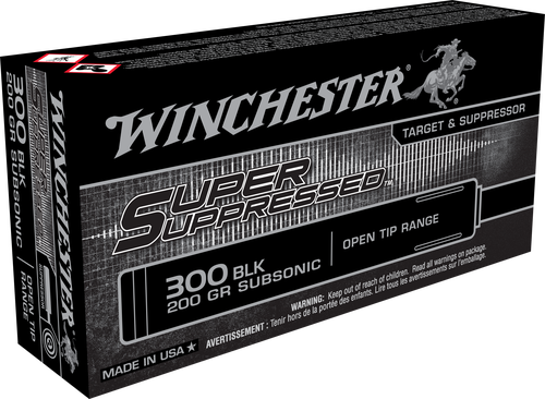 Winchester Super Suppressed 300 Blackout 200gr, 20rd Box