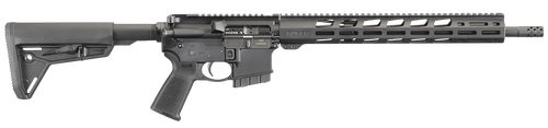 "Ruger AR-556 MPR 350 Legend, 16.38"" Barrel, Magpul MOE SL, Black Hardcoat Anodized, 5rd"