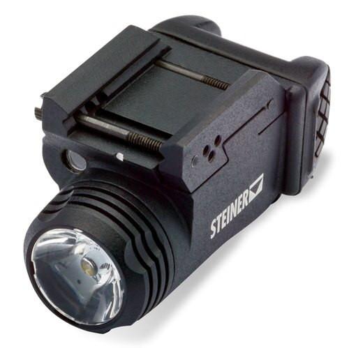 Steiner TOR Torch White LED 350/470 Lumens, CR123 Battery, Black Anodized Aluminum