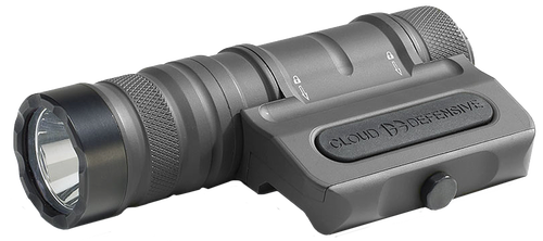 Cloud OWL White LED 1250 Lumens CR18650 30Q (2) Battery Urban Gray Anodized