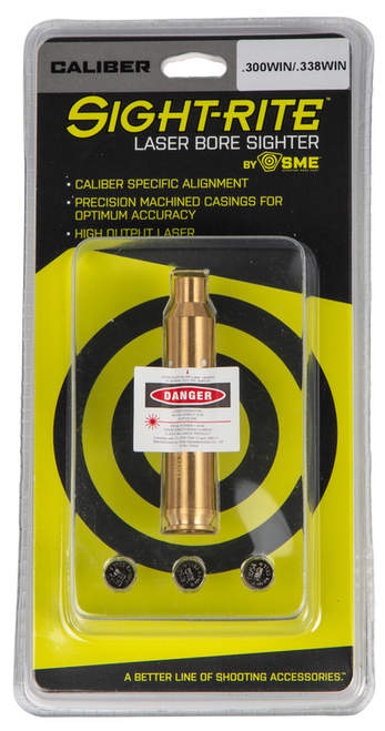 Shooting Made Easy, Sight-Rite, Laser Boresighter, 300WIN/338WIN