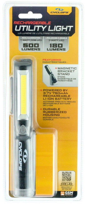 Cyclp Utility Light, Magnet 500Lum
