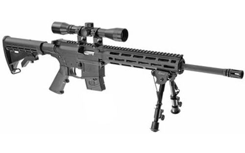 "Smith & Wesson M&P15-22 Sport II 22 LR, 16.5"" Barrel, Collapsible, 4X32 Scope, Caldwell XLA Bipod, M-Lok, 10rd"