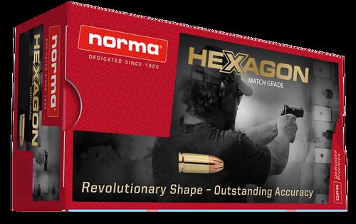 Norma Hexagon 357 Magnum 180Gr, Hexagon, 50rd Box