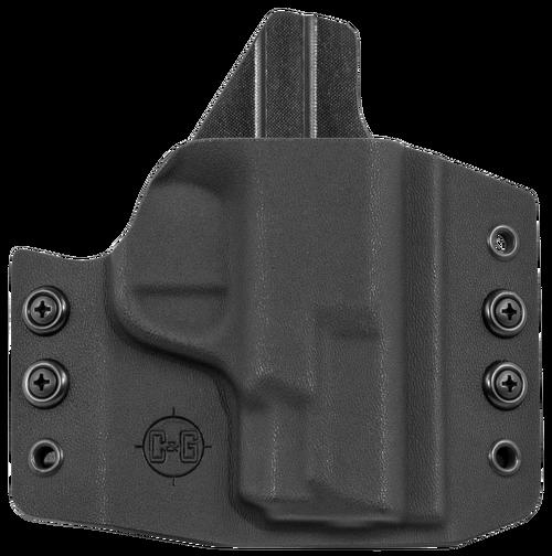 C&G Covert OWB S&W M&P Shield 9/40, Kydex, Black
