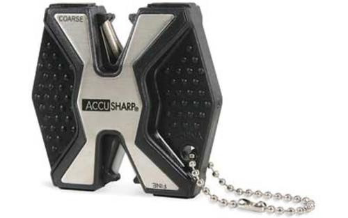 AccuSharp Model, Diamond Pro Blade Sharpener, Black, Aluminum and Plastic