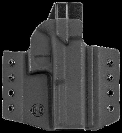C&G Covert OWB Glock G17/G22/G31, Kydex, Black