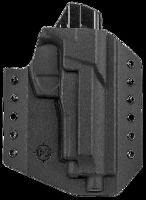 C&G Covert OWB Beretta 92/96/M9A3 Kydex Black