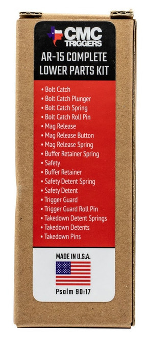 CMC Triggers Lower Parts Kit AR-15 Lower Parts Kit AR-15