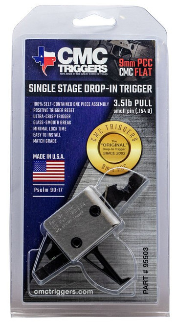 CMC Triggers PCC Single Stage Flat Bow PCC Single Stage Flat Bow AR-15/AR-10