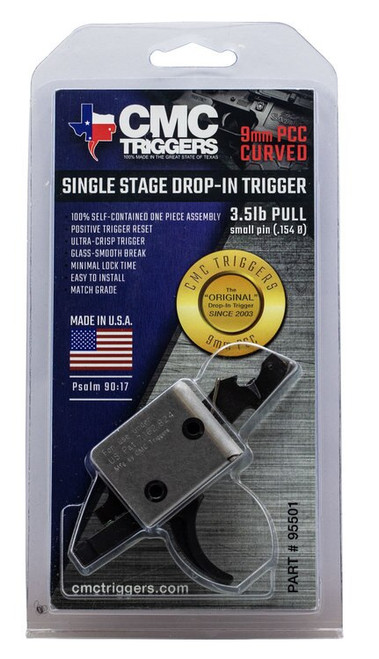 CMC Triggers PCC Single Stage Curved Bow PCC Single Stage Curved Bow AR-15/AR-10
