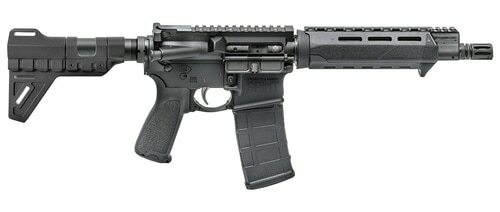"Springfield Saint Pistol 5.56/.223, 9.6"" Barrel, M-LOK, Blade Brace, Black, 30rd"