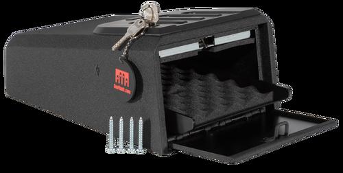 "Gunvault MiniVault 1050 Gun Safe Mechanical Illuminated Keypad/Key 16 Ga Steel Black 8.125"" x 10.125"" x 14"" (Exterior)"