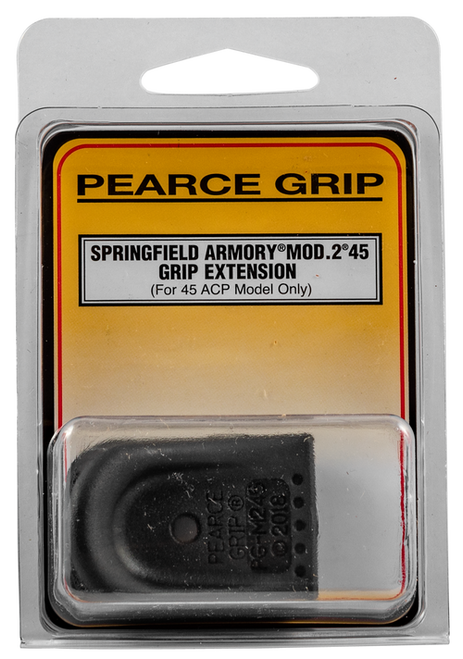 Pearce Grip Springfield  XD Grip Extension, Textured Polymer Black