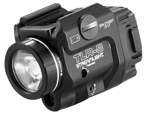 Streamlight TLR-8 Weaponlight With Red Laser
