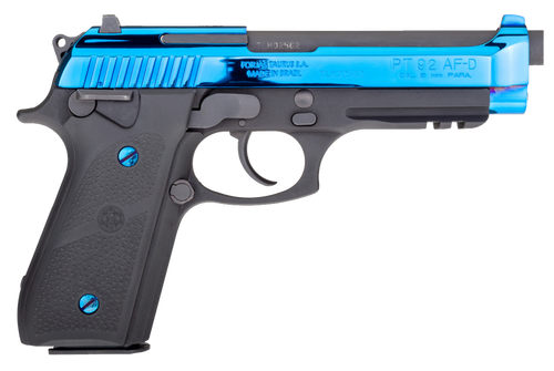 Taurus 92 9mm, Blued PVD Hogue, Matte Black, 17rd
