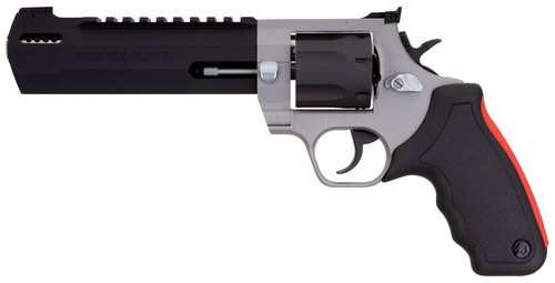 "Taurus Raging Hunter Revolver 454 Casull, 6.75"" Barrel, Rubber Cushion Insert Grip, Stainless, 5rd"