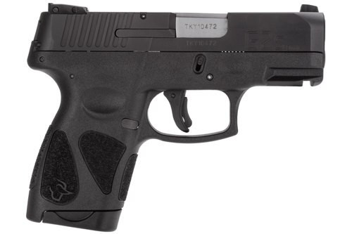 "Taurus G2S 9mm, 3.25"" Barrel, NS Black, Carbon Steel Slide, 7rd"