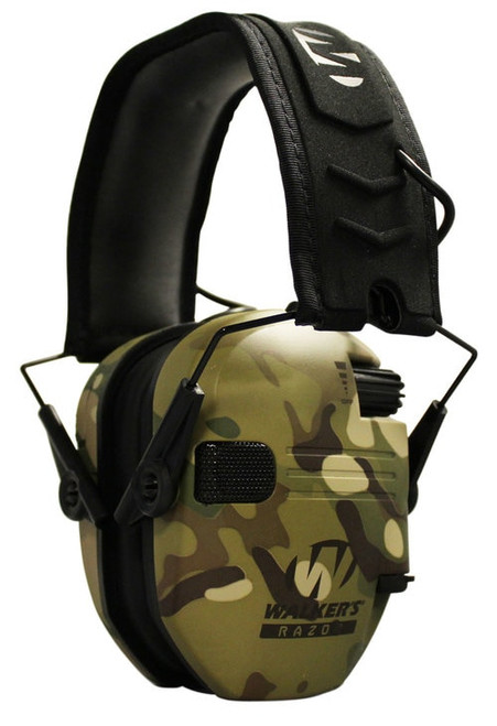 Walkers Razor Slim Electronic Earmuff 23 dB MultiCam